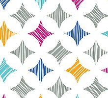 colorful marble tiles pattern by oksancia