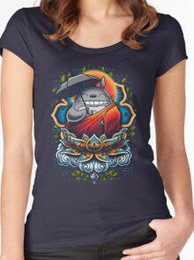 Enlightened Neighbor Women's Fitted Scoop T-Shirt