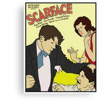 Scarface 1932 Movie Poster Canvas Print
