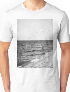 Lake Michigan Seagulls Unisex T-Shirt