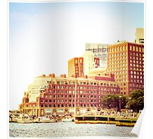 Boston Waterfront Poster