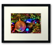 Christmas Bauble Framed Print