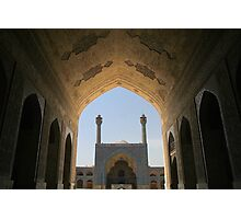 Isfahan Friday Mosque Gothic Arch Photographic Print
