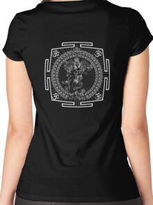 NATRAJA_MANTRA_2014 Women's Fitted Scoop T-Shirt