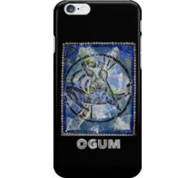 Ogum, Orixa of Iron iPhone Case/Skin