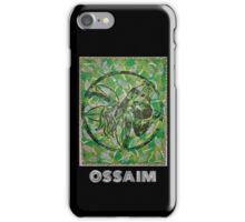 Ossaim, Orixa of herbal medicine iPhone Case/Skin