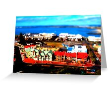 Bunbury WA - Tilt Shift Greeting Card