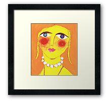 Bodacious Betty Framed Print