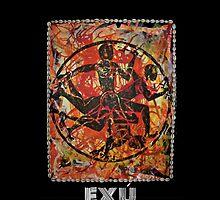 Exú, Orixa of the crossroads by Ginga & Helen Dos Santos