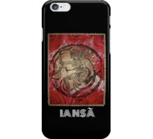 Iansã, Orixa of the wind iPhone Case/Skin