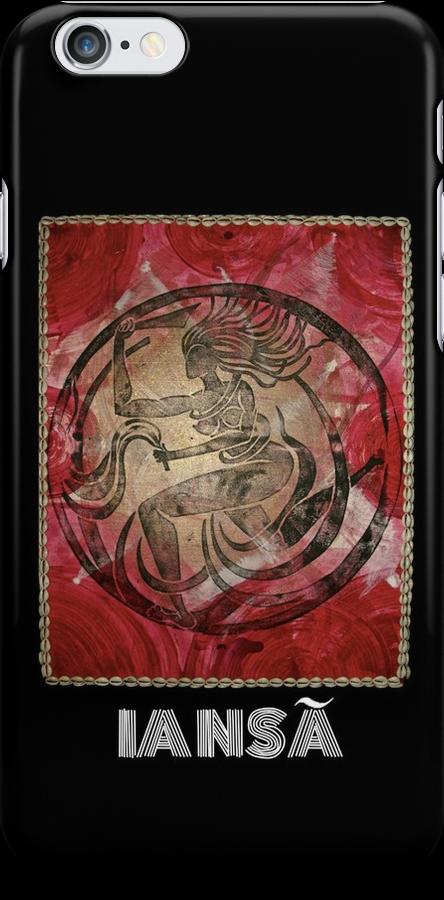 Iansã, Orixa of the wind by Ginga & Helen Dos Santos