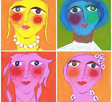 Painted Ladies by Rosemary Brown
