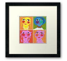 Medley of Maidens Framed Print