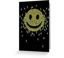 Happy Crowd Greeting Card