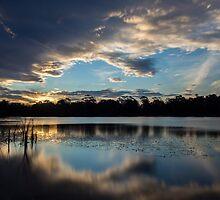 Sunset Reflections by Joel Bramley