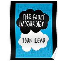 The Fault in Your Diet Poster