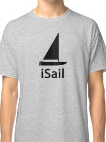 iSail BLACK Classic T-Shirt