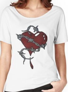 Protected Heart. Women's Relaxed Fit T-Shirt