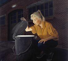 Trashbin by Patricia Van Lubeck