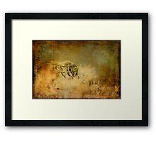 Send The Bees Love Framed Print
