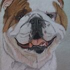 English Bulldog II by Anita Meistrell Putman