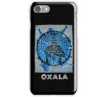 Oxalá, Orixa of the mind and heavens iPhone Case/Skin