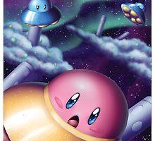 UFO Kirby by BigOrangeStar