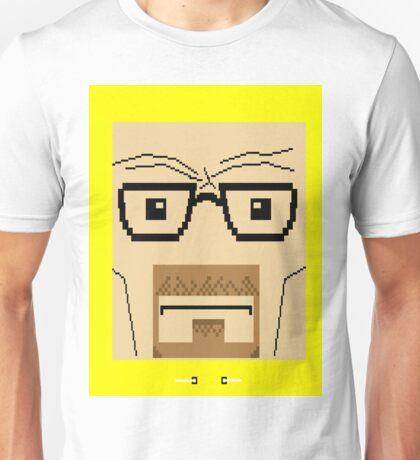 Breaking Bad Walter White Pixel Art Unisex T-Shirt