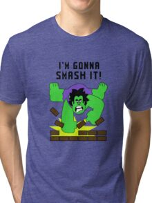Smash-It Banner Tri-blend T-Shirt