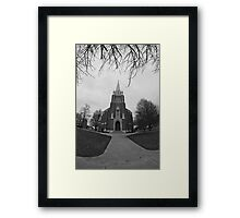 St. Vincent DePaul Catholic Church Framed Print