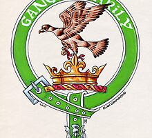 Clan Drummond Scottish Crest by Cleave
