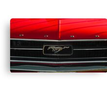 A Mustang  Canvas Print