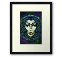 Madame By Topher Adam Framed Print