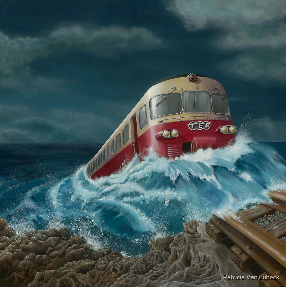 Trans European Express by Patricia Van Lubeck