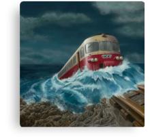 Trans European Express Canvas Print