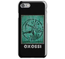 Oxossi, Orixa of the hunt iPhone Case/Skin