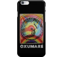 Oxumaré, Orixa of the rainbow iPhone Case/Skin
