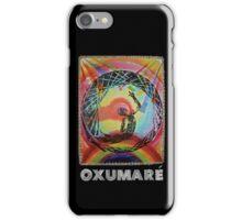 Oxumaré, Orixa of the rainbow iPhone Case/Skin