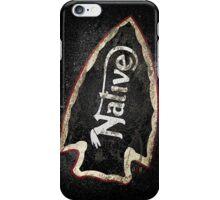 NATIVE —ASPHALT iPhone Case/Skin