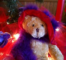 Christmas Teddy by photosbyliz