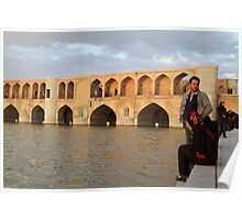 Bridge of 33 Arches, Esfahan, Iran Poster
