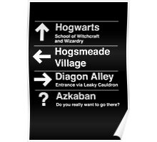 Where would you like to go Poster