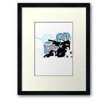 Metal Gear Framed Print