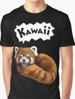Cute Kawaii Red Panda Graphic T-Shirt