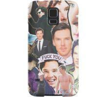 benedict collage Samsung Galaxy Case/Skin