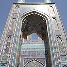 Tall Minarets, Friday Mosque by Jane McDougall