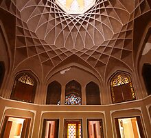 Wind Tower Pavilion, Yazd, Iran by Jane McDougall