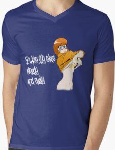 I Like EM Mens V-Neck T-Shirt