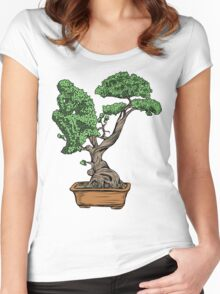 Bonsai Thinking Women's Fitted Scoop T-Shirt