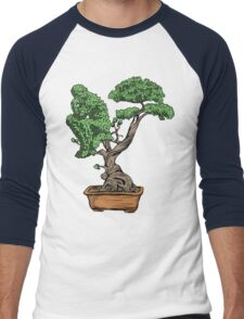 Bonsai Thinking Men's Baseball ¾ T-Shirt